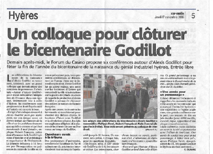 Colloque godillot article de presse page 001