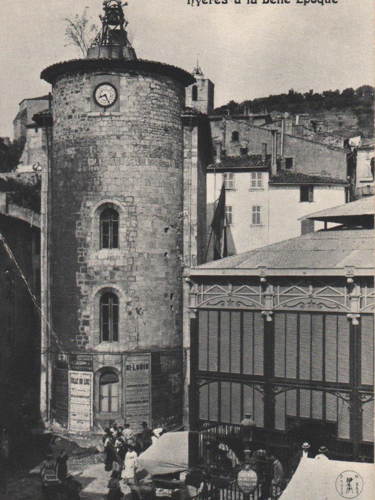 HYERES, tour des Templiers, Saint BLAISE, à la belle époque
